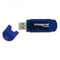INTEGRAL Clé USB EVO 13Gb INFD32BEVOBL+redevance