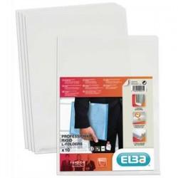 ELBA Sachet de 10 pochettes-coin Fard'or en PVC 14/100e
