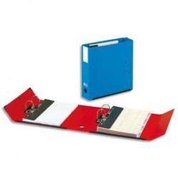 ARIANEX Classeur à deux leviers amovibles Mill-AR en PVC intérieur et extérieur bleu,dos 9.5cm