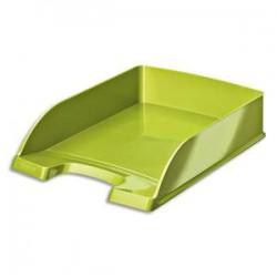 LEITZ Corbeille à courrier Leitz Plus - WOW vert métallisé - L35,7 x H7 x P25,5 cm