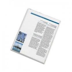 ELBA Etuis 2 faces carte d'identité, 8 x 13 cm, en PVC 15/100e