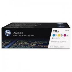 HP Tri pack couleurs laser 131A U0SL1AM
