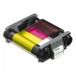 EVOLIS Badgy Ruban couleur YMCKO pour 100 impressions CBGR0100C
