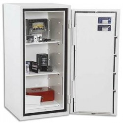 PHOENIX Coffre-fort CITADEL serrure électronique 78 litres blanc EN14450 - Dim. : L44 x H95 x P44 cm