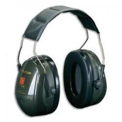 PELTOR Casque antibruit Optime II serre-tête réglable coloris vert H52001