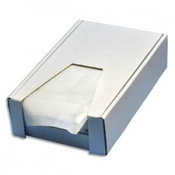 EMBALLAGE Boîte de 250 Pochettes document ci-inclus neutre - Format DL : 225 x 115 mm transparent