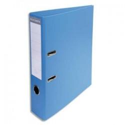 EXACOMPTA Classeur à levier PVC dos de 70mm bleu