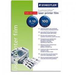 5 ETOILES Boîte de 100 transparents pour tracé manuel