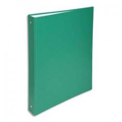 EXACOMPTA Classeur 4 anneaux de 30 mm, en polypropylène, dos de 4 cm, vert