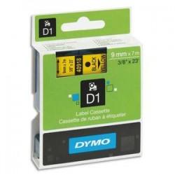 DYMO Ruban D1 noir/jaune 9MMX7M pour 1000/1000+/2000/3500/4500/5000/5509