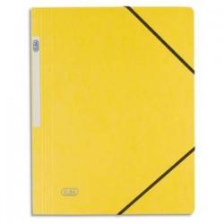 ELBA Chemise simple à élastique Topfile , en carte lustrée 5/10e jaune