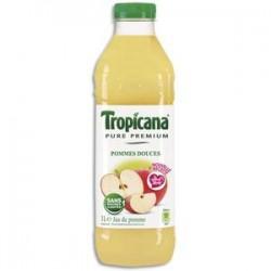 TROPICANA Bouteille plastique d'1 litre de jus de Pomme