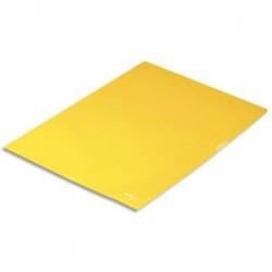 ESSELTE Boîte de 100 pochettes-coin Copy Safe jaune en polypropylène 11/100e