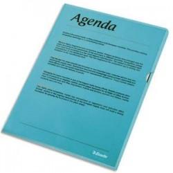ESSELTE Boîte de 100 pochettes-coin Copy Safe bleu en polypropylène 11/100e