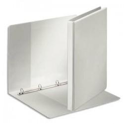 ESSELTE Classeur à couverture personnalisable sur trois faces PP blanc - dos de 2,9 cm