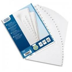 ELBA Répertoire numérique 26 positions maxi format pour pochettes, en PVC 19/100e