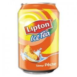 LIPTON Cannette d'Ice Tea pêche de 33 cl