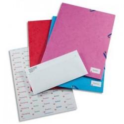 AVERY Boîte de 1200 étiquettes laser blanc 22X12,7 L7653-25