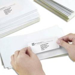 AVERY Boîte de 6500 étiquettes laser blanc média 38,1X21,2 L7651-100