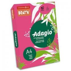 PAPYRUS Ramette 500 feuilles papier couleur intense ADAGIO grenadine intense A4 80g
