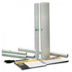 AGIPA Rouleau couvre livre 0,50X10m-Repositionnable sous film rétractable-Qualité mate-60 microns