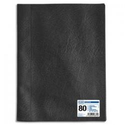 ELBA Protège-documents 100 vues noir Hunter , couv. en PVC 34/100e, pochettes en polypropylène 6/100e