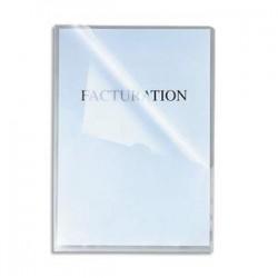 EXACOMPTA Boîte de 100 pochettes-coin incolore stop-doc en polypropylène 11/100e