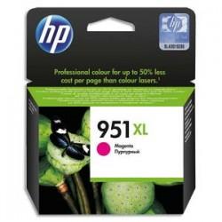HP Cartouche jet d'encre magenta 951XL pour Officejet Pro 8600 e AIO / 8600 Plus e AIO CN047AE