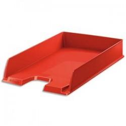 ESSELTE Corbeille à courrier EUROPOST - Vivida rouge - L35 x H6,10 x P25,4 cm