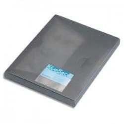 DURABLE Sachet 10 porte cartes de visite adhésifs, en polypro, 94x63mm, ouverture grand côté, transparent