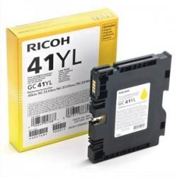 RICOH Cartouche gel jaune 405764 GC41Y 2200 pages Aficio SG 3110