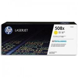 HP cartouche laser jaune 508X CF362X
