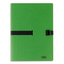 ELBA Chemise adaptable à sangle, grande capacité CLIP N'GO . Coloris vert.