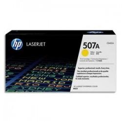HP Cartouche laser jaune 507A pour imprimantes M551 series-CE402A