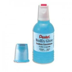 PENTEL Recharge flacon de 300ml de colle transparente