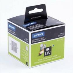 DYMO Rouleau de 320 étiquettes disquettes adhésif permanent  54x70mm S0722440