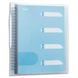 ELBA Protège-documents Flexam Pochettes amovibles et jeu de 5 intercalaires. Incolore.