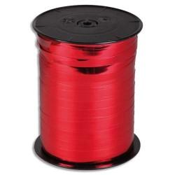 CLAIREFONTAINE Bobine bolduc de comptoir 250x0,7m. Coloris rouge métallisé