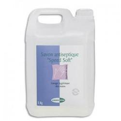 ANIOS Bidon de 5 Litres Savon médical antiseptique pour les mains  Bactéricides NFEN 1040 et NFT 72151