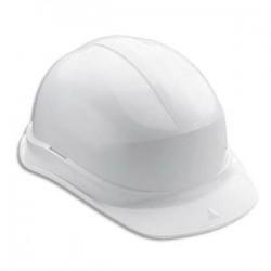 DELTA PLUS Casque de sécurité en polyéthylène avec bandeau de tour de tête réglable EN397 blanc