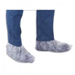 EPI Boîte de 100 Couvre-chaussures en polypropylène non-tissé blanches