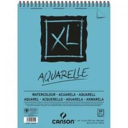 CANSON Bloc de 30 feuilles de papier dessin XL AQUARELLE 300g A3