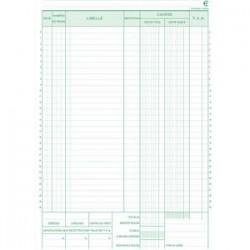 EXACOMPTA Manifold caisse 21 x 29,7 cm 50 feuillets dupli numérotés autocopiants