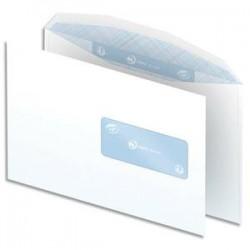 NEUTRE Boîte de 500 enveloppes blanches gommées 80g mise sous pli automatique C5 162x229 fenêtre 45x100