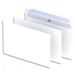 OXFORD Boîte de 500 enveloppes blanches auto-adhésives 90g format C5 162x229 mm