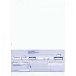 ELVE Paquet de 100 lettres de change 21x29,7 100f 1 traite avec traite en pied prédécoupée