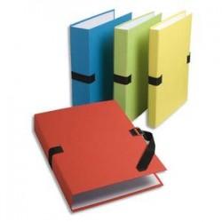 EXACOMPTA Chemise extensible fibres papier 100% recyclées coloris assortis