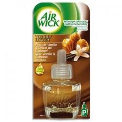AIR WICK Recharge Diffuseur fleur de vanille et délice caramel