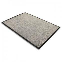 FLOORTEX Tapis d'accueil Advantage gris en polypropylène 60 x 90 cm épaisseur 10 mm