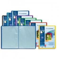 EXACOMPTA Protège document personnalisable PP Kreacover 60 vues assortis